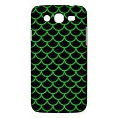 Scales1 Black Marble & Green Colored Pencil Samsung Galaxy Mega 5 8 I9152 Hardshell Case  by trendistuff