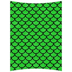 Scales1 Black Marble & Green Colored Pencil (r) Back Support Cushion by trendistuff