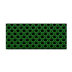 Scales2 Black Marble & Green Colored Pencil Cosmetic Storage Cases by trendistuff