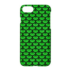 Scales3 Black Marble & Green Colored Pencil (r) Apple Iphone 7 Hardshell Case by trendistuff
