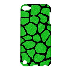 Skin1 Black Marble & Green Colored Pencil Apple Ipod Touch 5 Hardshell Case by trendistuff
