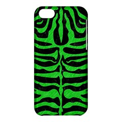 Skin2 Black Marble & Green Colored Pencil Apple Iphone 5c Hardshell Case by trendistuff
