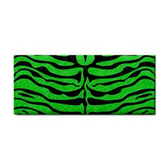 Skin2 Black Marble & Green Colored Pencil (r) Cosmetic Storage Cases by trendistuff