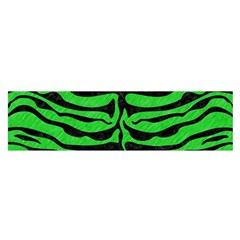 Skin2 Black Marble & Green Colored Pencil (r) Satin Scarf (oblong) by trendistuff