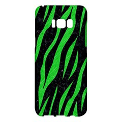 Skin3 Black Marble & Green Colored Pencil Samsung Galaxy S8 Plus Hardshell Case  by trendistuff