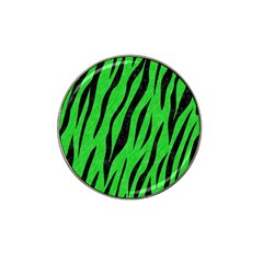 Skin3 Black Marble & Green Colored Pencil (r) Hat Clip Ball Marker (10 Pack) by trendistuff