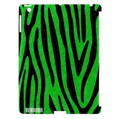 Skin4 Black Marble & Green Colored Pencil Apple Ipad 3/4 Hardshell Case (compatible With Smart Cover) by trendistuff