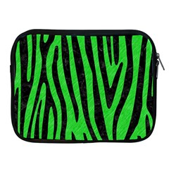 Skin4 Black Marble & Green Colored Pencil Apple Ipad 2/3/4 Zipper Cases by trendistuff