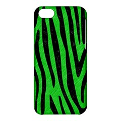 Skin4 Black Marble & Green Colored Pencil Apple Iphone 5c Hardshell Case by trendistuff