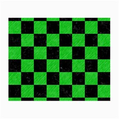 Square1 Black Marble & Green Colored Pencil Small Glasses Cloth by trendistuff