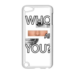 Who Are You Apple Ipod Touch 5 Case (white) by Valentinaart