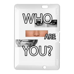Who Are You Kindle Fire Hdx 8 9  Hardshell Case by Valentinaart