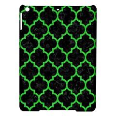 Tile1 Black Marble & Green Colored Pencil Ipad Air Hardshell Cases by trendistuff