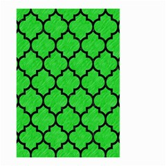 Tile1 Black Marble & Green Colored Pencil (r) Small Garden Flag (two Sides) by trendistuff