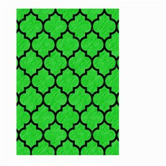 Tile1 Black Marble & Green Colored Pencil (r) Large Garden Flag (two Sides) by trendistuff