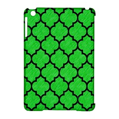 Tile1 Black Marble & Green Colored Pencil (r) Apple Ipad Mini Hardshell Case (compatible With Smart Cover) by trendistuff
