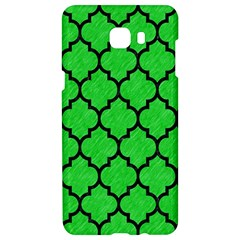 Tile1 Black Marble & Green Colored Pencil (r) Samsung C9 Pro Hardshell Case  by trendistuff