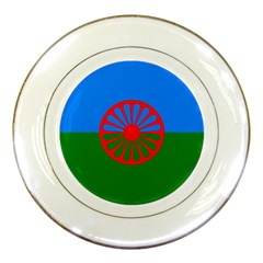 Gypsy Flag Porcelain Plates by Valentinaart