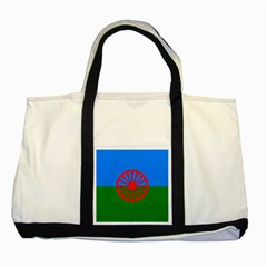 Gypsy Flag Two Tone Tote Bag by Valentinaart