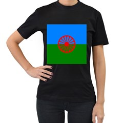 Gypsy Flag Women s T Shirt (black)