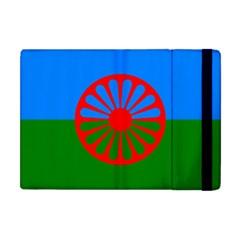 Gypsy Flag Apple Ipad Mini Flip Case by Valentinaart