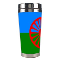 Gypsy Flag Stainless Steel Travel Tumblers by Valentinaart