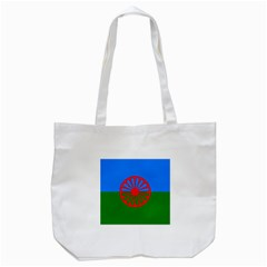 Gypsy Flag Tote Bag (white) by Valentinaart