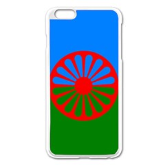 Gypsy Flag Apple Iphone 6 Plus/6s Plus Enamel White Case by Valentinaart