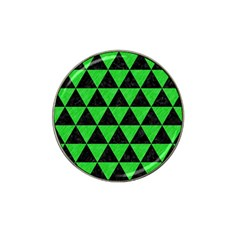 Triangle3 Black Marble & Green Colored Pencil Hat Clip Ball Marker (4 Pack) by trendistuff