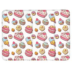 Sweet Pattern Samsung Galaxy Tab 7  P1000 Flip Case by Valentinaart