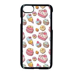 Sweet Pattern Apple Iphone 7 Seamless Case (black) by Valentinaart