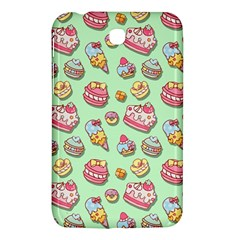 Sweet Pattern Samsung Galaxy Tab 3 (7 ) P3200 Hardshell Case  by Valentinaart