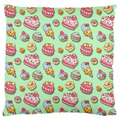 Sweet Pattern Large Flano Cushion Case (two Sides) by Valentinaart