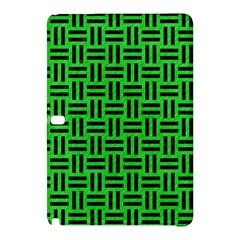 Woven1 Black Marble & Green Colored Pencil (r) Samsung Galaxy Tab Pro 10 1 Hardshell Case by trendistuff