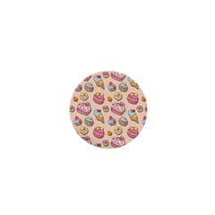 Sweet Pattern 1  Mini Buttons by Valentinaart