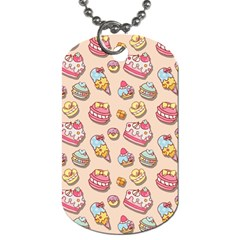 Sweet Pattern Dog Tag (two Sides) by Valentinaart