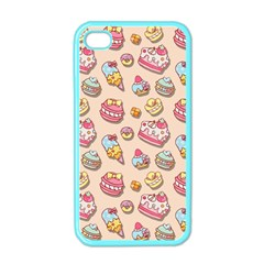 Sweet Pattern Apple Iphone 4 Case (color) by Valentinaart