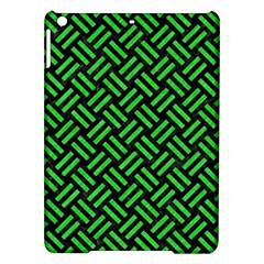 Woven2 Black Marble & Green Colored Pencil Ipad Air Hardshell Cases by trendistuff