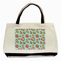 Sweet Pattern Basic Tote Bag by Valentinaart