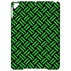 Woven2 Black Marble & Green Colored Pencil Apple Ipad Pro 9 7   Hardshell Case by trendistuff