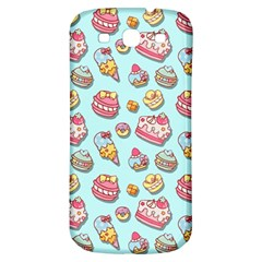 Sweet Pattern Samsung Galaxy S3 S Iii Classic Hardshell Back Case by Valentinaart