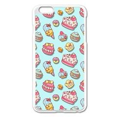 Sweet Pattern Apple Iphone 6 Plus/6s Plus Enamel White Case by Valentinaart