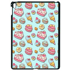 Sweet Pattern Apple Ipad Pro 9 7   Black Seamless Case by Valentinaart