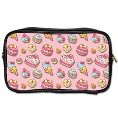 Sweet Pattern Toiletries Bags 2 Side by Valentinaart