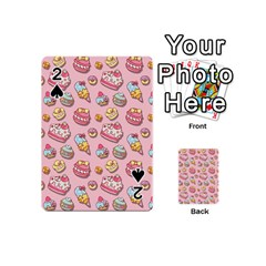Sweet Pattern Playing Cards 54 (mini)  by Valentinaart