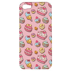 Sweet Pattern Apple Iphone 5 Hardshell Case by Valentinaart