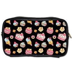 Sweet Pattern Toiletries Bags by Valentinaart