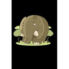 Cute Elephant 5 5  X 8 5  Notebooks
