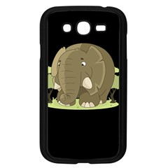 Cute Elephant Samsung Galaxy Grand Duos I9082 Case (black) by Valentinaart