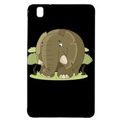Cute Elephant Samsung Galaxy Tab Pro 8 4 Hardshell Case by Valentinaart